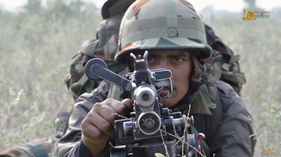4个人配3种口径枪械?印军敌后特战分队所配武器看懵网友