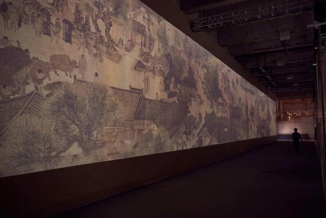 """""""文化中国 ・ 致敬广州"""" 《清明上河图3.0》数字艺术展广州开幕"""
