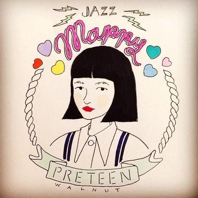 5岁开始学钢琴,14岁成为时尚博主,网红女孩Mappy的女明星之路