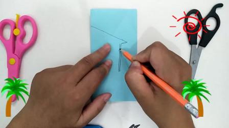 复杂春字剪纸步骤图解