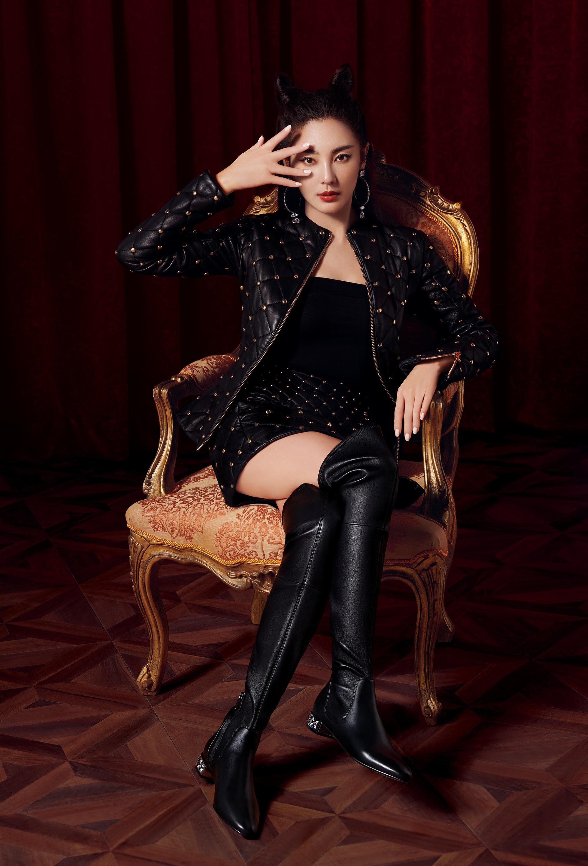 品牌 张雨绮 女王 高调 代言人 张雨绮官 天生 造型 演员 高跟鞋 少女 官宣 演技 平底鞋 长裙 实力