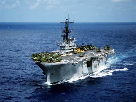 075两栖舰真正意义:中国海军大规模陆战航空突击平台