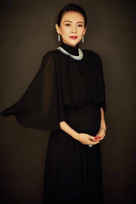 庆祝!章子怡承认怀二胎 孕期已有七个半月