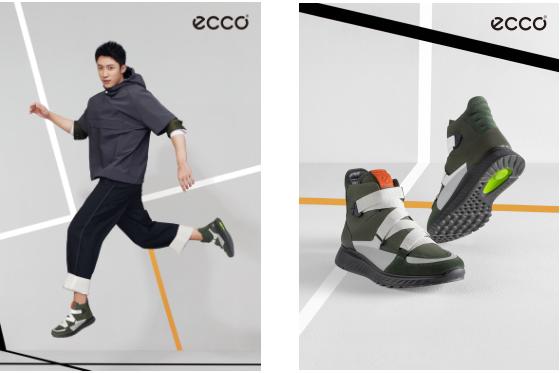 重燃复古运动风潮,让ECCO(爱步) ST.1带你跃出色
