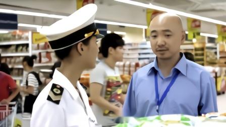 卫生局来超市突击检查,不料小伙却一脸淡定,那是我同学