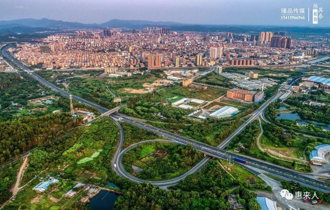 惠来县城全景图,你到家了吗?