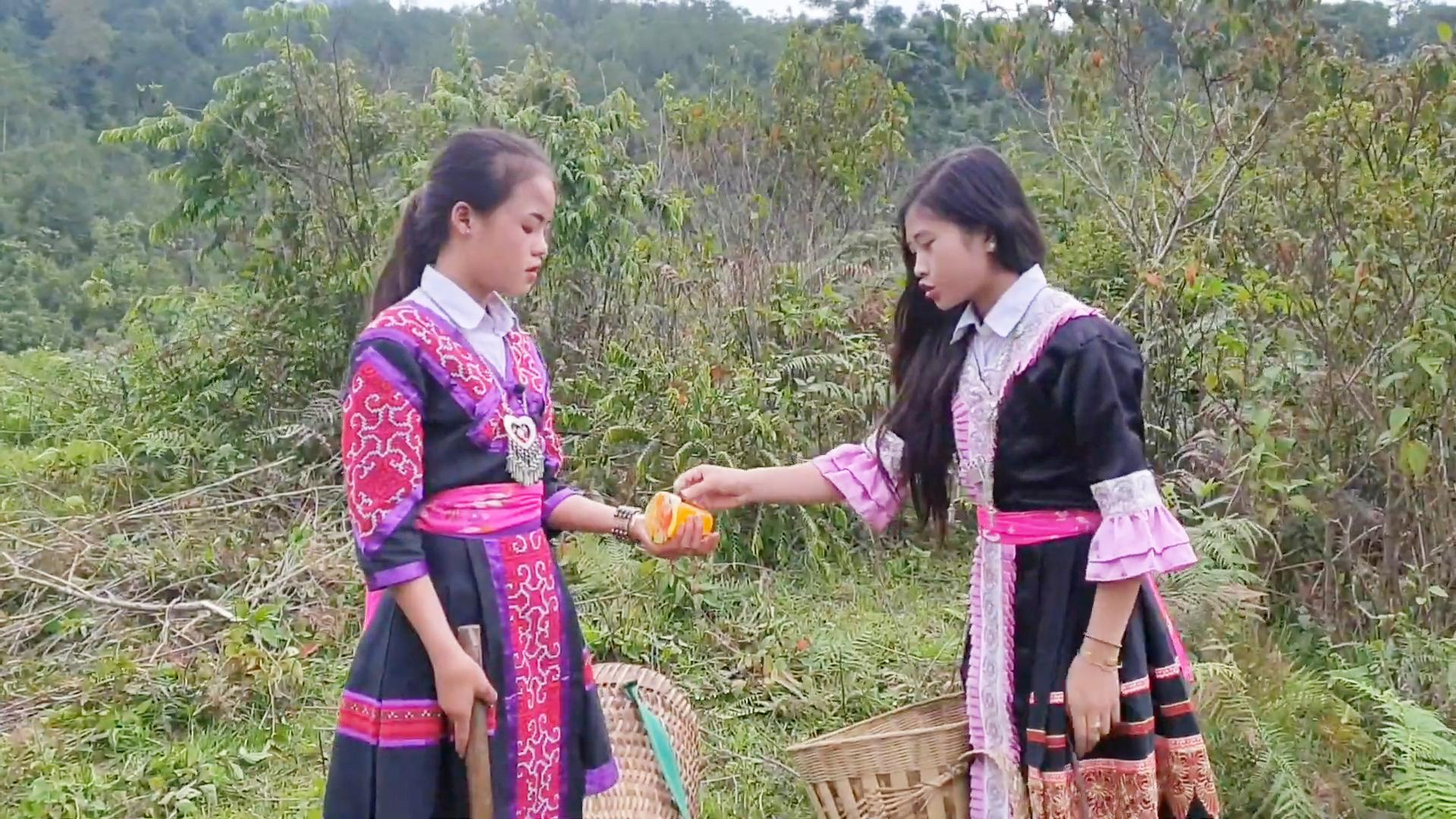 越南农村两姐妹从小就成了孤儿,至今22岁,唯一愿望想嫁到中国来图片