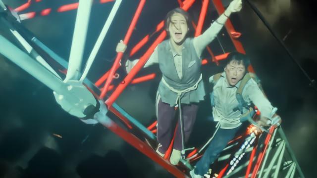 韩国最新体力电影,要不是灾难好跑得快,你们早死了看吧电影网-百度图片