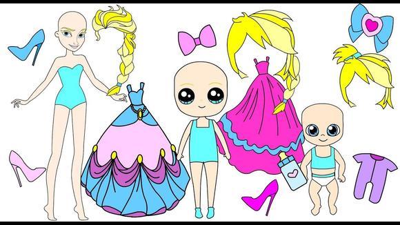 可爱公主衣服图片