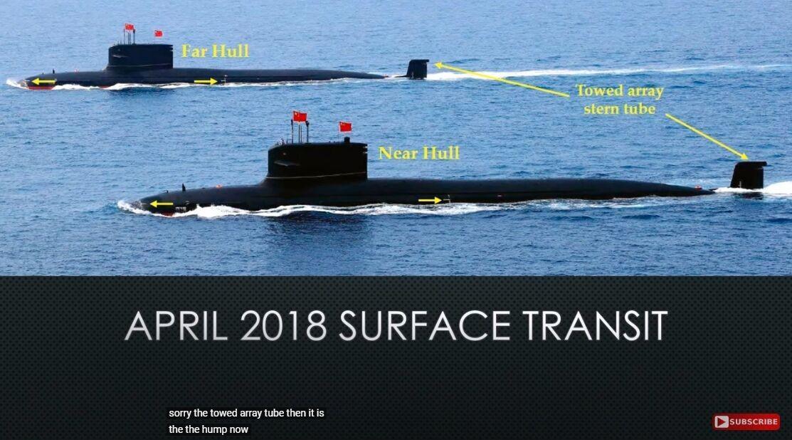093A噪音降至110分贝,中国海军攻击核潜艇进入全球作战时代