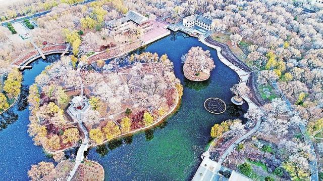 """欣赏城市""""微湿地""""周边的美景 榆次潇河"""