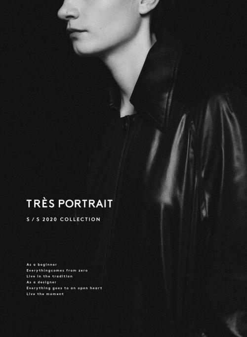 Très Portrait 尚希 初始化无性别设计师品牌 极致肖像