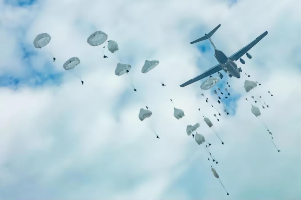 中国空降兵 中国空降兵2019时间表,战斗力燃爆