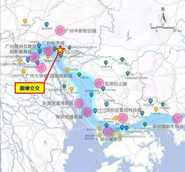 """广深高速新塘立交将变身""""空中市政公园"""""""