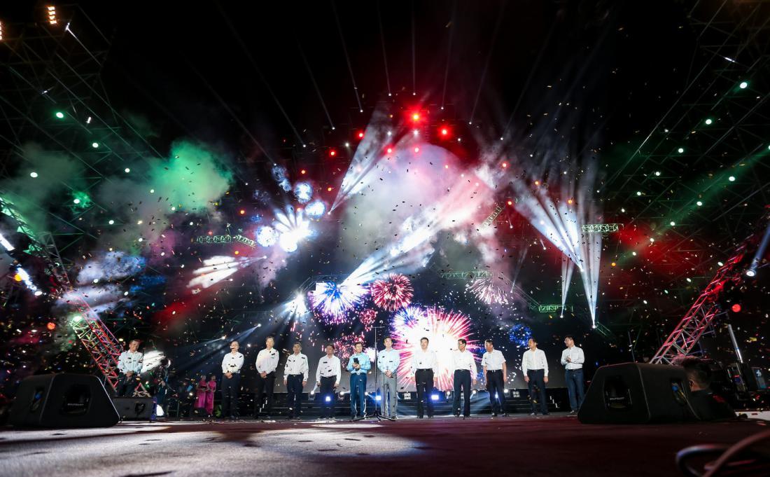 2019东风风神中国汽摩运动大会武汉开幕