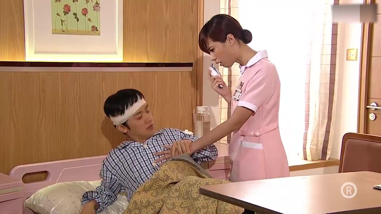 喜剧:医院护士来量体温,富二代:我喜欢直接一点量体温,太逗了