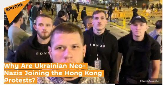"""可怕,香港暴徒的""""援军""""到了"""