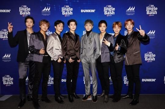 NCT127出演美国各大年末音乐演唱会并大获成功