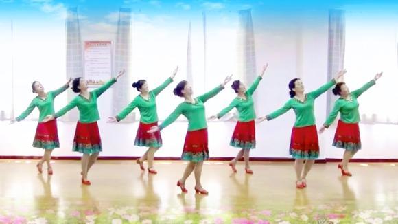场舞_热门广场舞《多年以后》动作好看,你想学吗?有教学