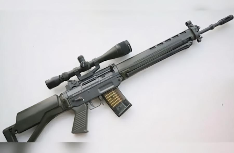 「武器库」世界十大名枪之SG 550突击步枪:中立国瑞士陆军的制式步枪