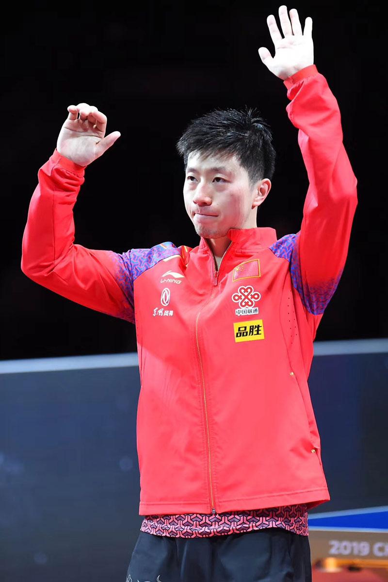 国乒世界杯团体赛名单:马龙领衔第7次出战00后孙颖莎首入选