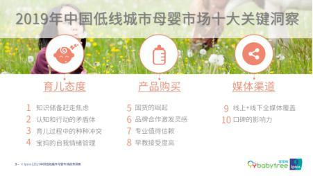 益普索Ipsos、宝宝树2019年中国低线城市母婴市场趋势洞察报告婴儿爱笑