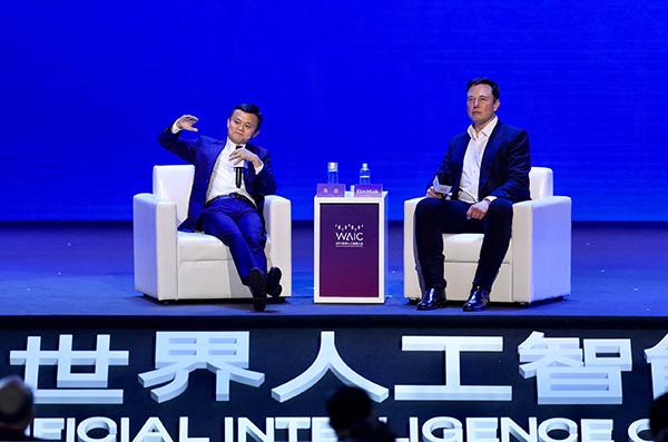 """马云马斯克首次上海对话十大金句及主要""""吵架""""点"""