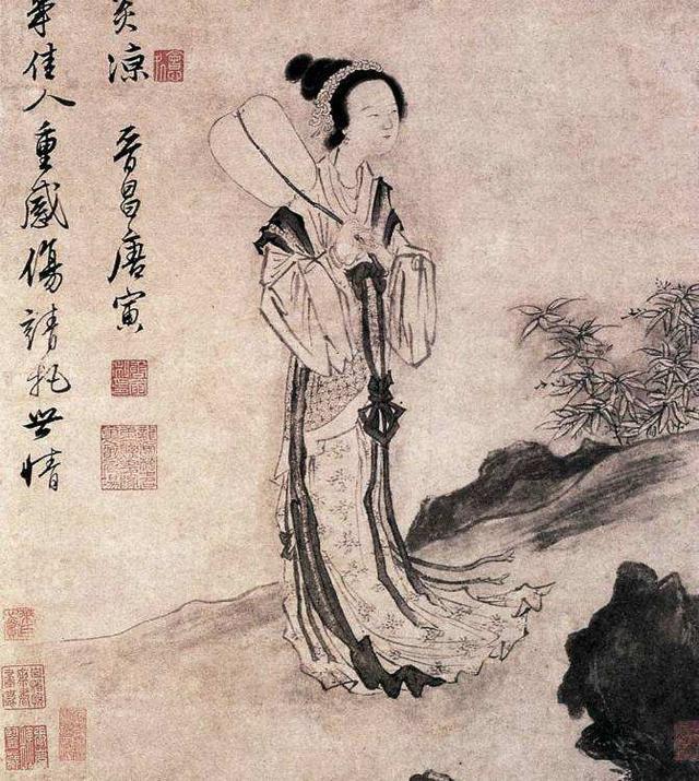 在上海博物馆里感受中国书画的魅力,触摸唐伯虎笔下的真实的秋香