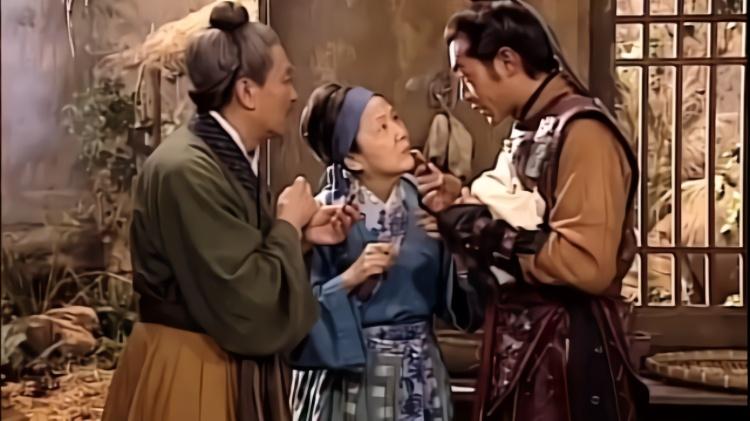 寻秦记:项少龙给老人家吃巧克力,老婆婆被美味吸引,问他怎么做