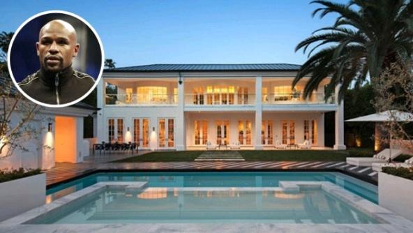 梅威瑟职业生涯已狂赚70亿!一块手表价值1.2亿,花近2亿买豪宅