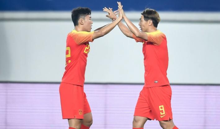 世预赛-国足7-0痛击关岛迎来2连胜杨旭大四喜武磊破门
