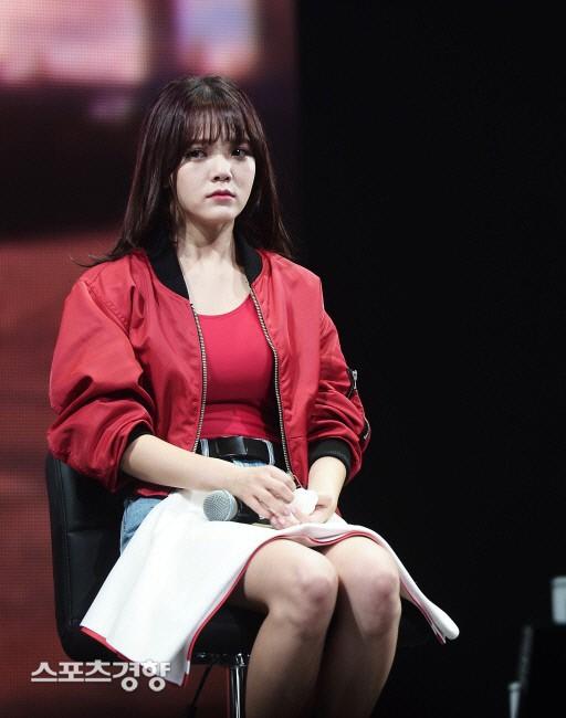 """珉 AOA智珉在恶评中""""再一次""""呼吁痛苦"""