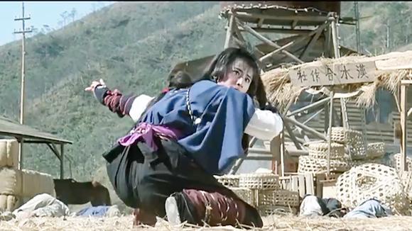 为抢夺地图,日本武士大战山贼,一个比一个厉害