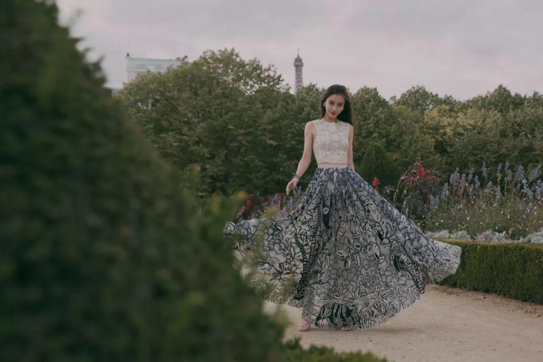 Angelababy的裙子,张钧甯的黑丝太美!
