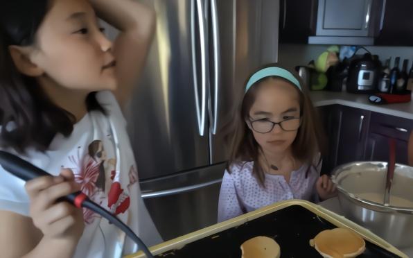 爱子在日本 一顿加拿大式的早餐