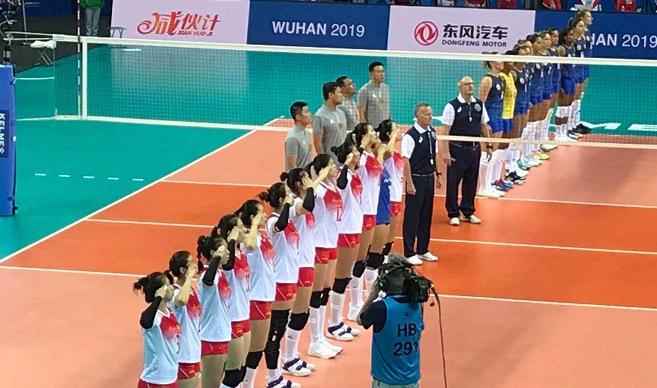 中国女排3-0复仇巴西队 李盈莹超神6连发