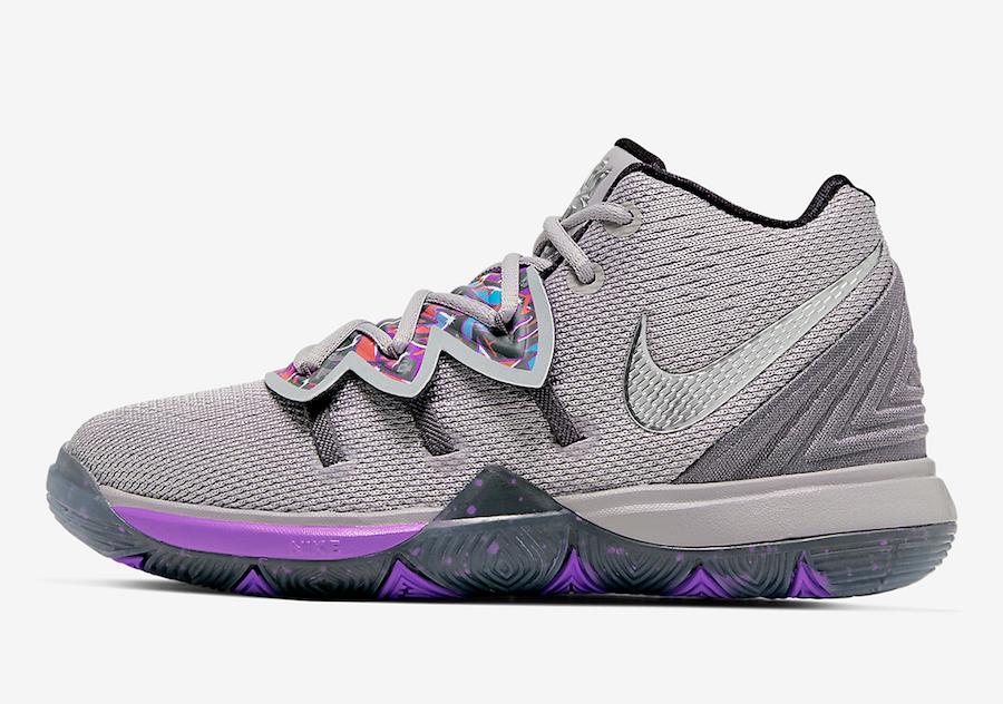 玩味十足!Nike(耐克) Kyrie 5 涂鸦配色下周发售