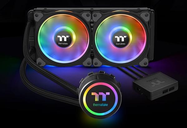 曜越Floe DX RGB TT Premium顶级版水冷开卖:1680万色灯