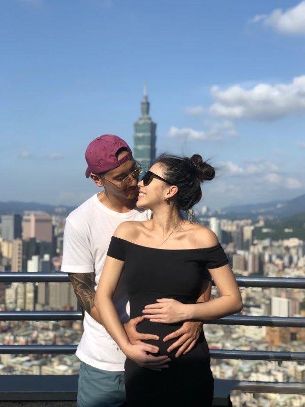 【热议】王阳明老婆怀孕 蔡诗芸挺5个月孕肚自曝要生够5个