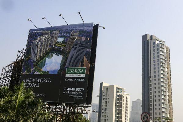 事态严重!印度58万个房地产项目陷于停顿 (图)