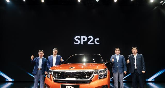 起亚的反攻!全球战略新车SP2c、全新一代K3插电混动版亮相蓉城