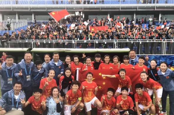 军运会中国女足4-0大胜美国队!三战全胜晋级四强,净胜11球