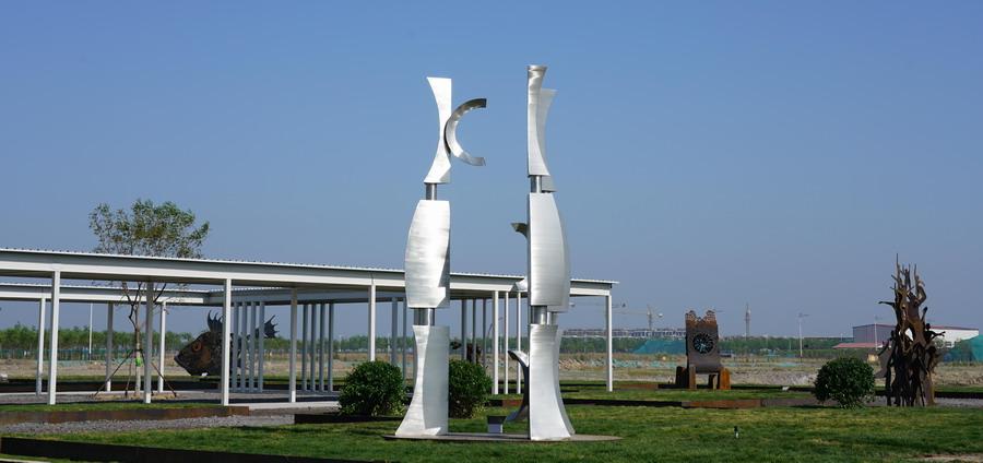 钢铁产能全球第一大国 金属雕塑现状如何