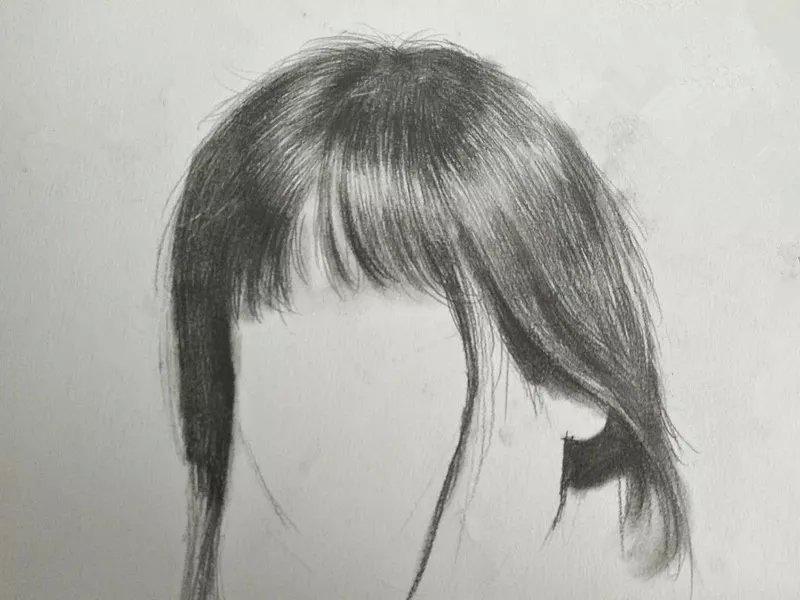 时装手绘|头发原来这样简单,再也不用担心画不好