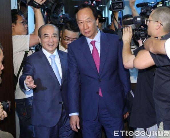 郭台铭宣布不参选 吕秀莲宣布参加2020台湾地区领导人选举