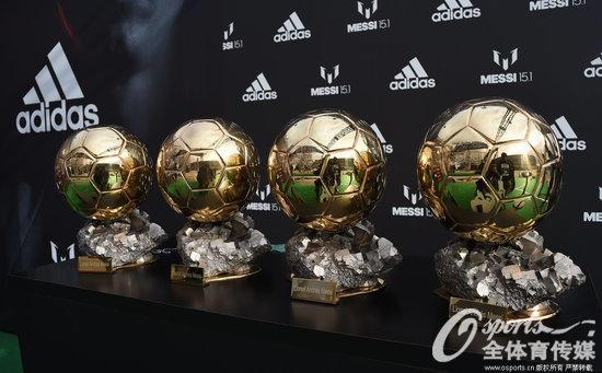俱樂部金球獎排名:巴薩超皇馬,米蘭尤文並列第三