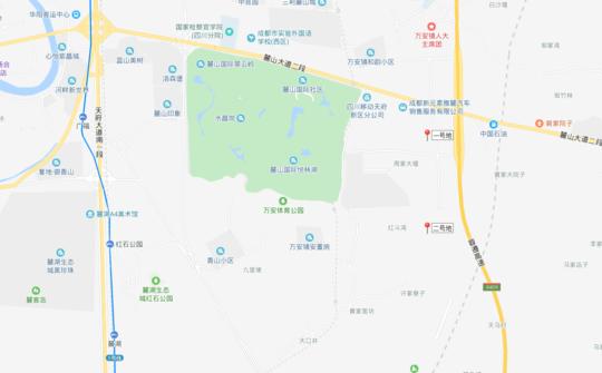 天府新区两次当地拍卖蒲江土地的最低价