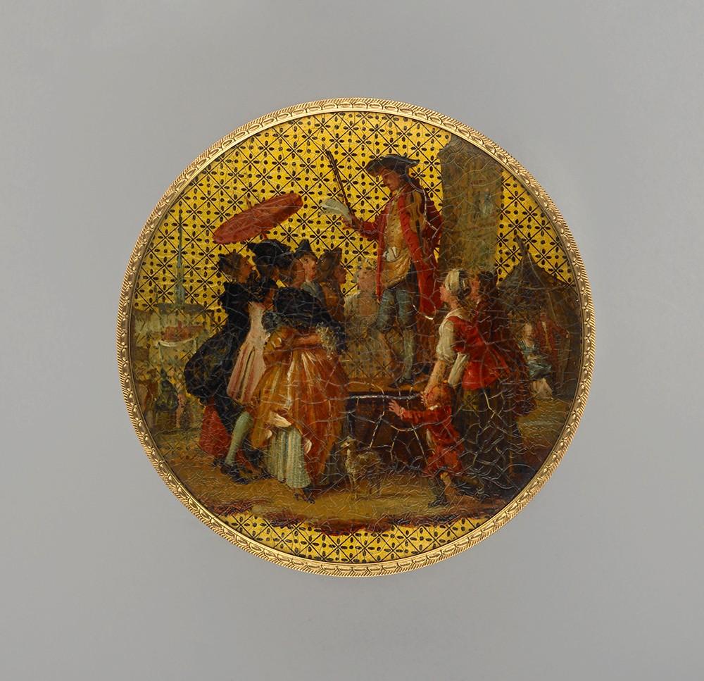 亚洲漆及其在国外的影响:漆器鼻烟盒作为十八世纪法国的奢侈品简述