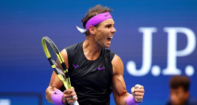 美网纳达尔五盘险胜梅德韦杰夫 夺第19座大满贯冠军