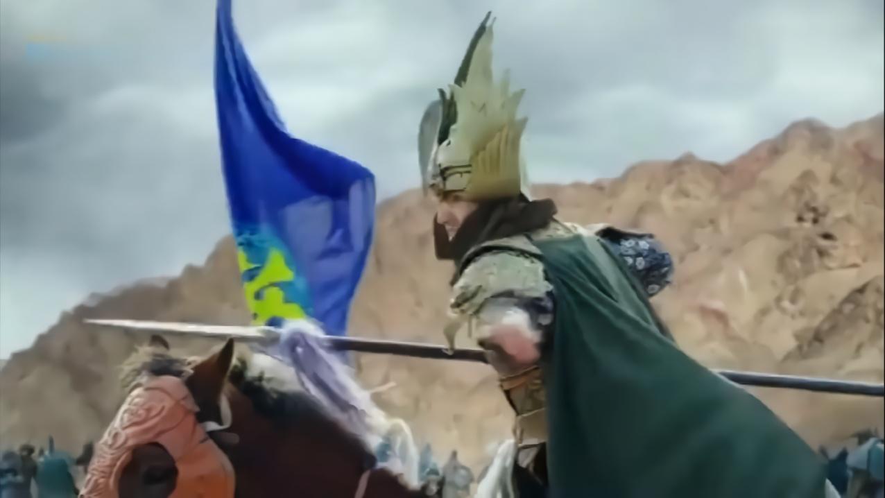 古装:西夏王子鞭子一甩,竟直接托起废材郡王,幸好军师及时赶到